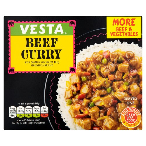 Vesta Curry & Rice with Beef
