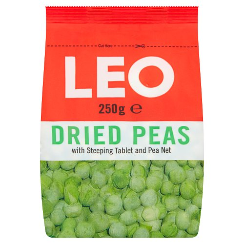Leo Dried Peas with Steeping Tablet