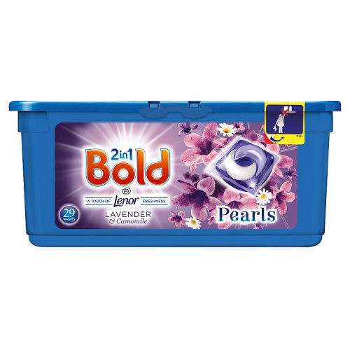 Image of Bold 2 in 1 Pearls Washing Capsules Lavender & Camomile 29 Wash