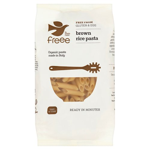 Doves Farm Organic Gluten Free Brown Rice Penne Pasta