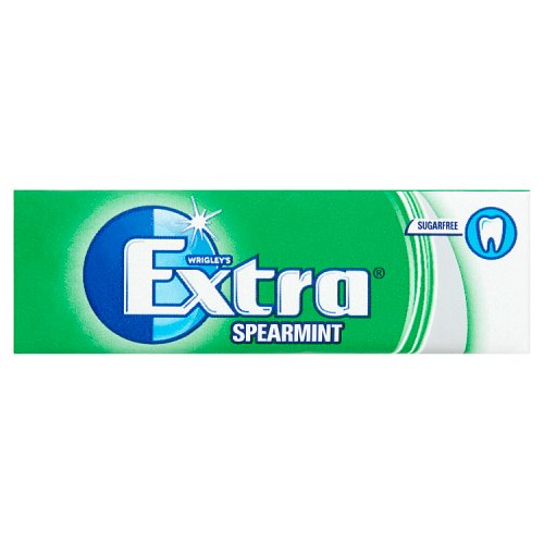 Wrigleys Extra Spearmint Gum 10 Pieces