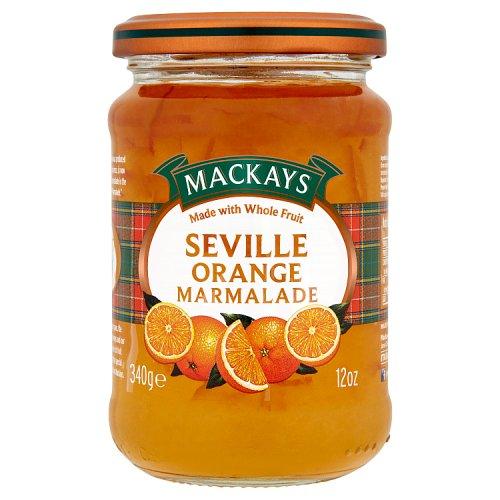 Mackays Natural Fruit Seville Orange Marmalade