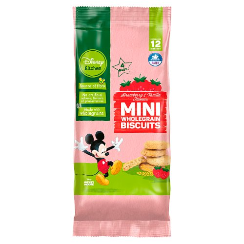 Disney 12 Month Strawberry & Vanilla Mini Biscotti 4 Pack