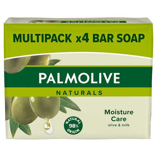 Palmolive Naturals Soap Moisture Care 4 Pack