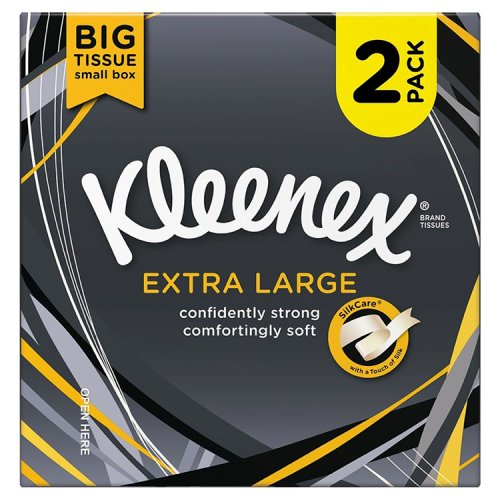 Kleenex Extra Large Compact Tissue Twin Pack 44S