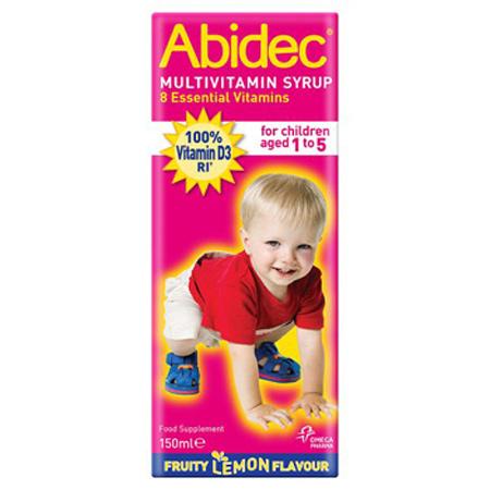 Abidec Multi Vitamins Syrup & Omega 3 150ml