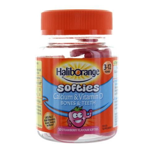 Haliborange Kids Vitamin D Calcium Softies 30s