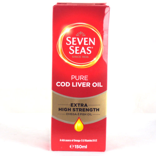 Seven Seas Extra High Strength Pure Cod Liver Oil 150ml