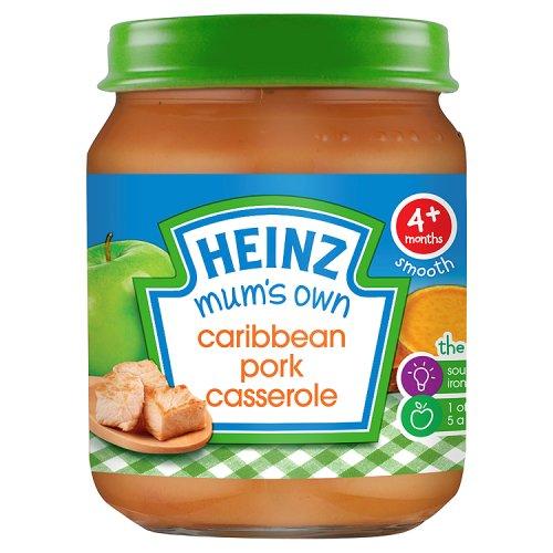 Heinz 4 Month Caribbean Pork Casserole