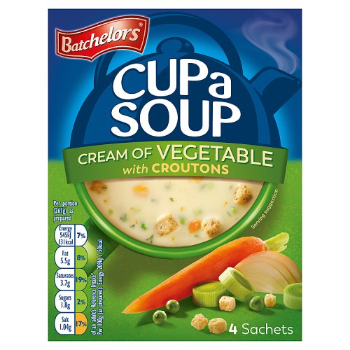 Batchelors Cup a Soup Cream Of Vegetable