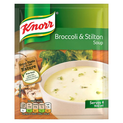 Knorr Packet Soup Broccoli and Stilton