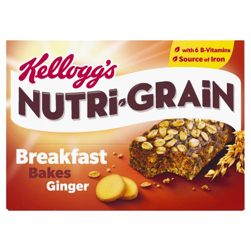 Kelloggs Elevenses Breakfast Bakes Ginger 6 Pack