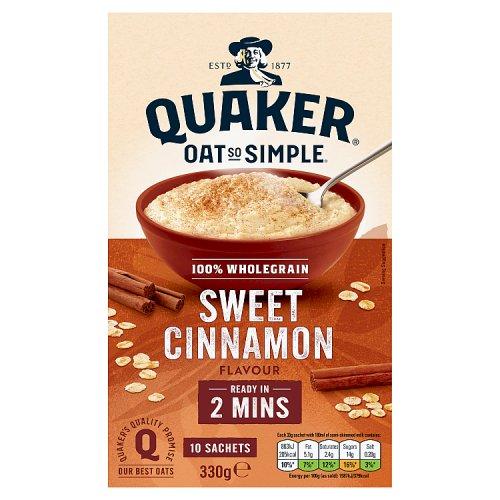 Quaker Oat So Simple Cinnamon