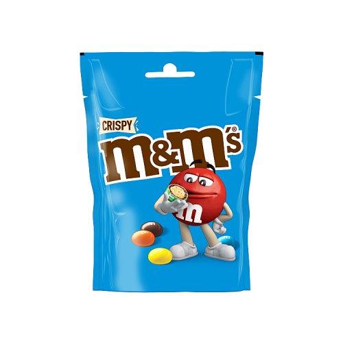 M Amp Ms Crispy Pouch Chocolate Big Bags