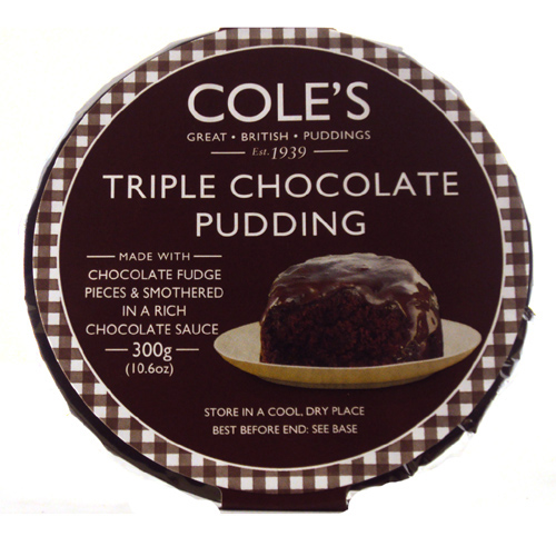 Coles Triple Chocolate Pudding