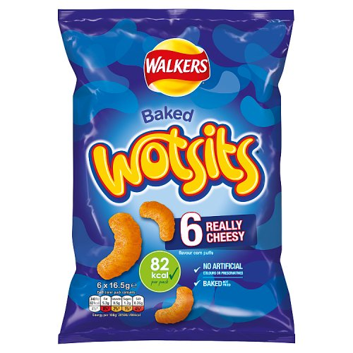 Wotsits Cheese 6 Pack