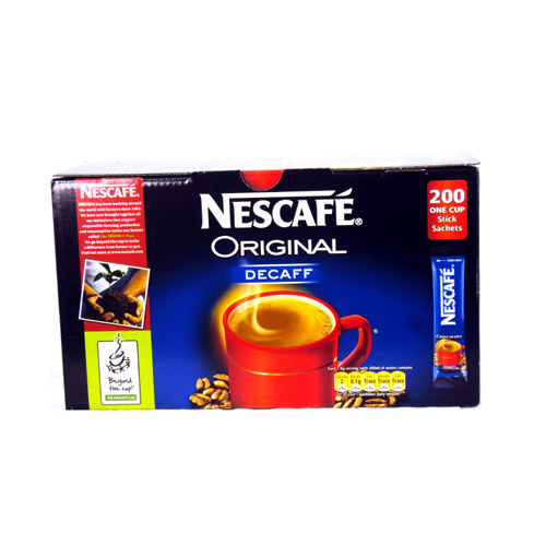 Nescafe Gold Blend Decaffienated One Cup Sachet x 200