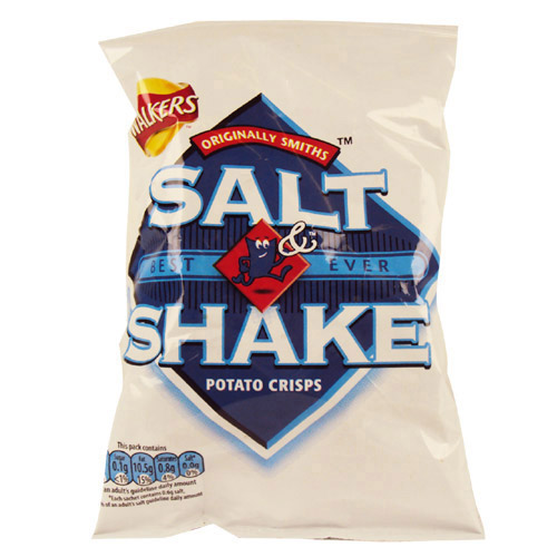 Walkers Crisps Salt n Shake x 48