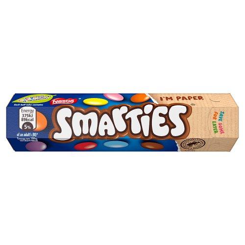 Nestle Smarties Hexatube Chocolate Single Bar