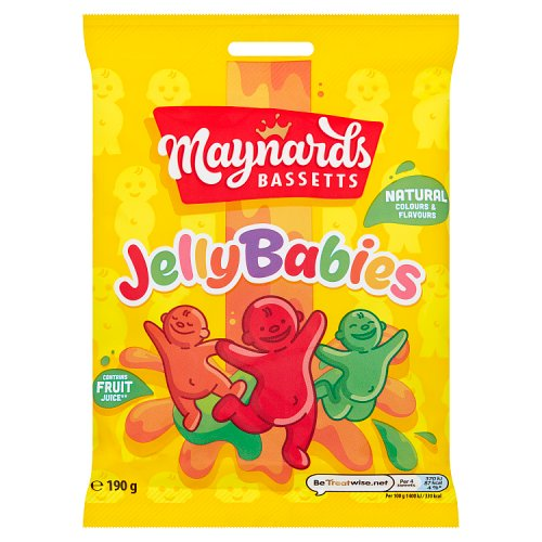 Jelly Baby Gift Ideas : Bassetts jelly babies sweets hanging bags