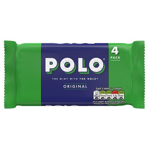 Polo Mints 4 Pack Mints Chewing Gum