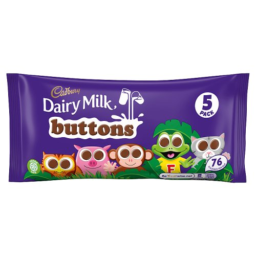 Cadburys Buttons 5 Pack