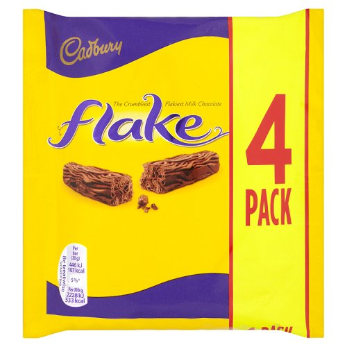 Cadburys Flake 4 Pack