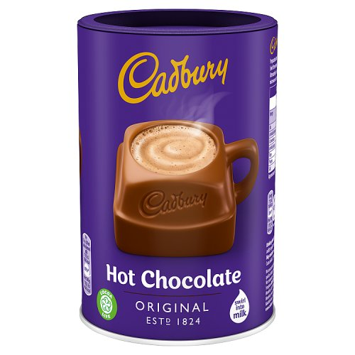 Cadbury Fairtrade Drinking Chocolate Add Milk Large Size