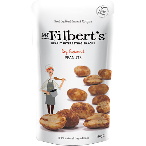 Mr Filberts Dry Roasted Peanuts Pouch