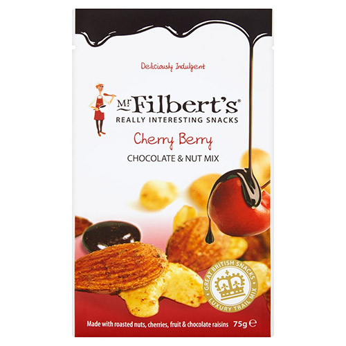 Mr Filberts Cherry Berry Chocolate Nut Mix Pouch