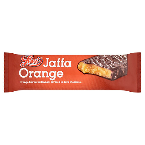 Gifts Lees Jaffa Orange Bar - 24 x 60g