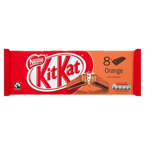 Kit Kat 2 Finger Orange 9 Pack