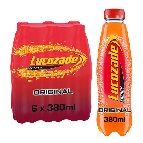 Lucozade Energy Original 6 x 380ml