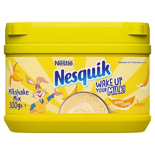 Nesquik Banana Milkshake Mix Milk Milkshakes