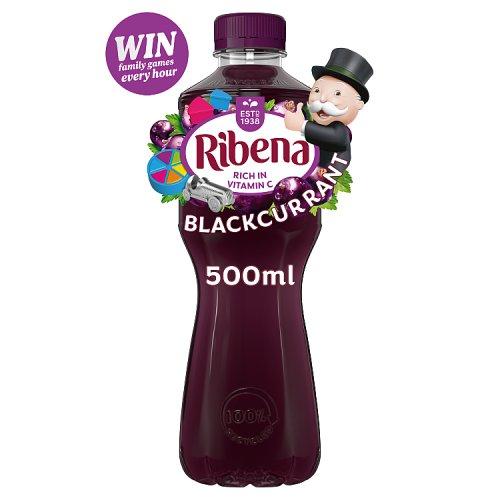 Ribena Blackcurrant Bottle Juice