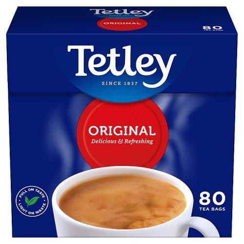Tetley Tea Bags 80 Drinks Tea