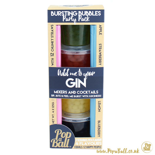 Pop A Ball Bursting Bubbles Party Pack - Gin