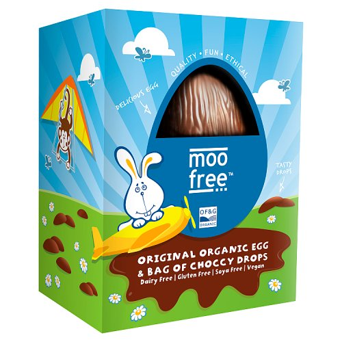 Moo Free Organic Egg with Choccy Drops