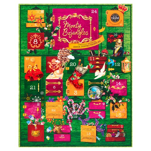 Monty Bojangles Cocoa Dusted Truffle Collection Advent Calendar