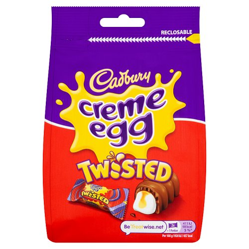 Cadbury Creme Egg Twisted Bag
