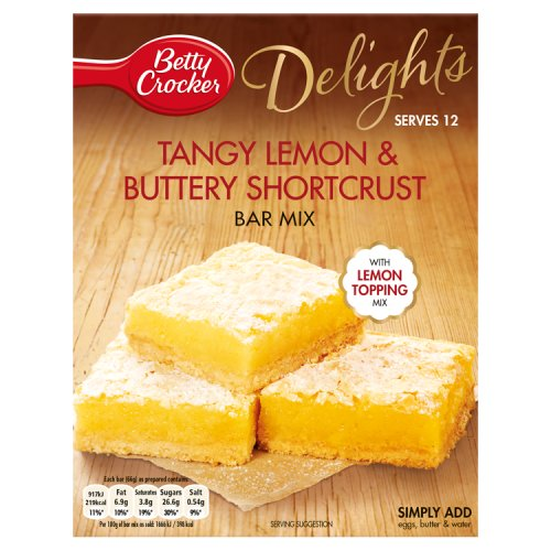 Betty Crocker Delights Tangy Lemon & Buttery mix