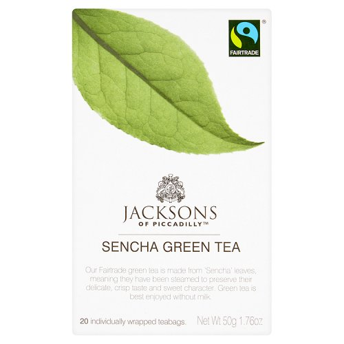 Jacksons Green Pure Sencha 20 Teabags Fairtrade