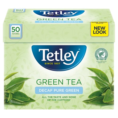 Tetley Decaffeinated Pure Green 50 Teabags