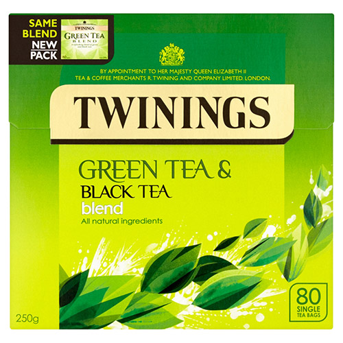 Twinings Green Tea Blend Teabag 80s
