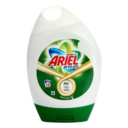 Image of Ariel Bio Washing Gel 16 Washes