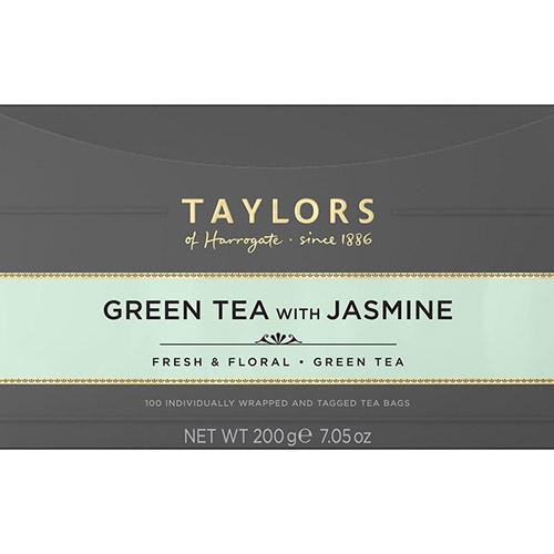 Taylors Green Tea with Jasmine Tea 100 Bags