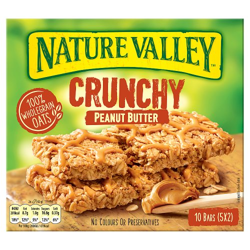 Nature Valley Crunchy Peanut Butter 10 bars (5x2)