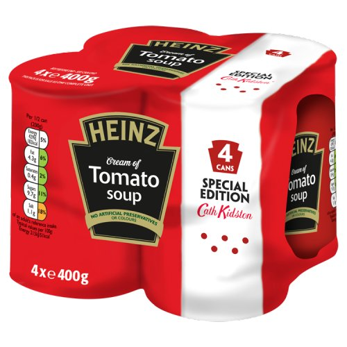 Heinz Cream Of Tomato Soup 4 Pack
