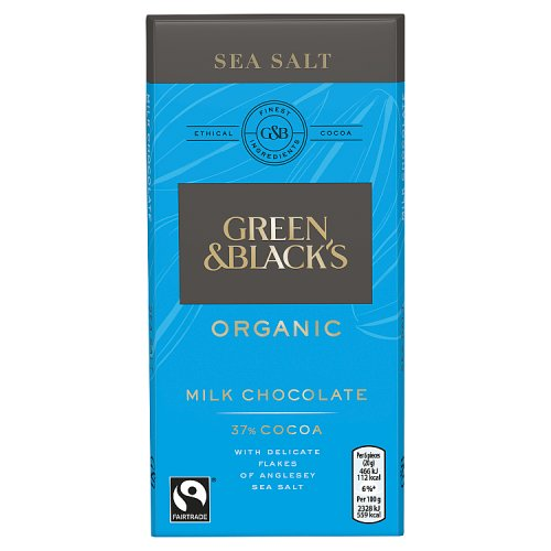 Green & Blacks Milk Sea Salt Chocolate