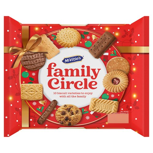 McVities Family Circle Biscuit Variety